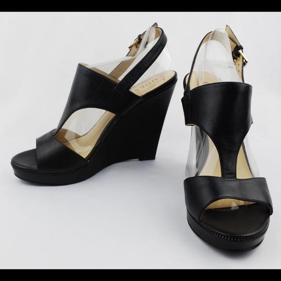 36a440b7aeeb Guess Shoes - GUESS Black Platform Wedges High Heel Sandals